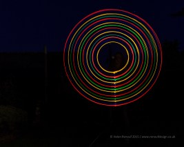 Light Painting - 18-250mm lens, at 18mm - ISO 200, F8, 30 secs
