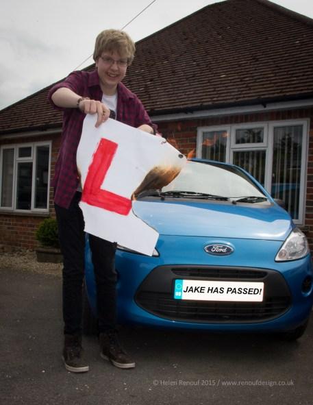 Jake passed!