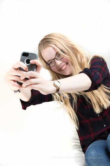 ISO200, F5, 1/125sec - selfie, high key shot!