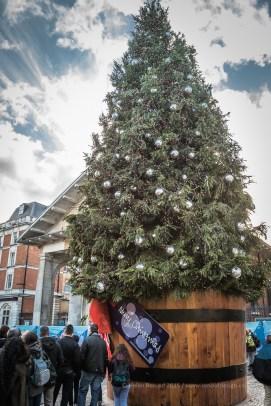 A huge Chritsmas tree