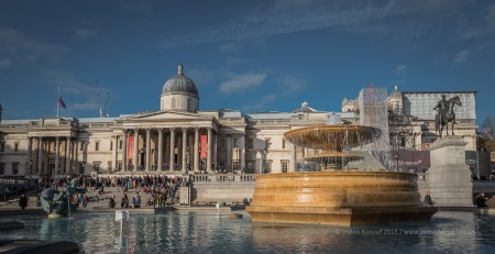 Looking towards the National Gallery