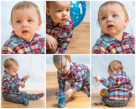 Freddie photoshoot in time for his first birthday - a cake smash and fun at our
