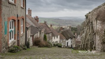 Gold Hill from the Hovis Adverts