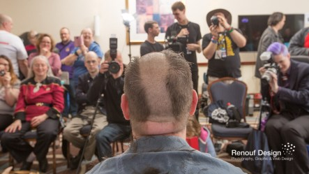 Teen Cancer Head Shave
