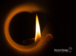 Experiementing with a ring of fire - all done in camera!