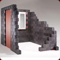 Construcciones con ladrillos de plástico tipo Lego