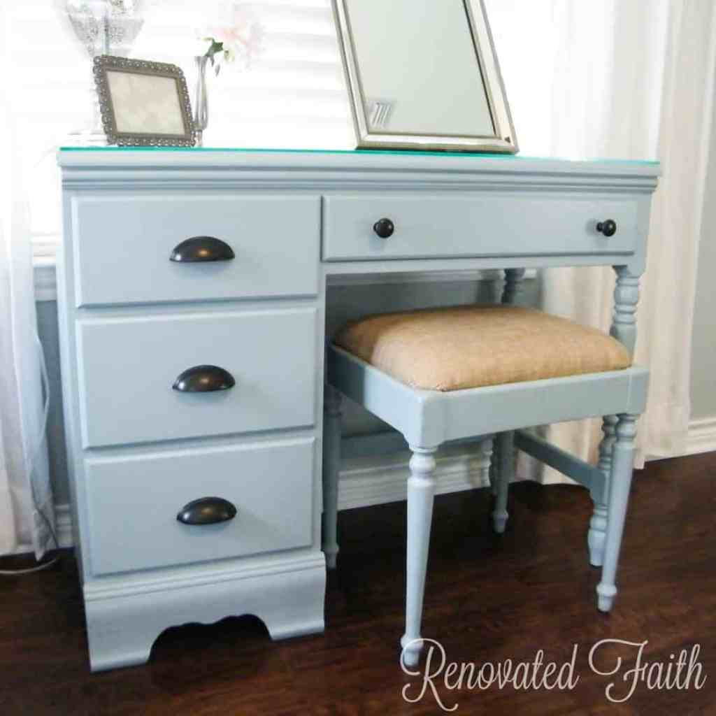 DIY Vanity Desk Makeover