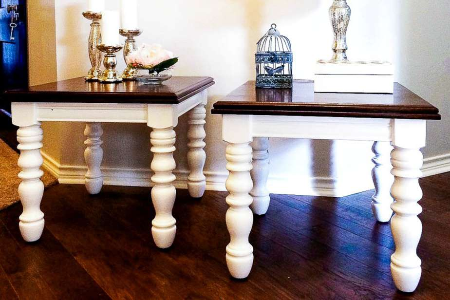 How To Gel Stain Wood Furniture Easy Stain Over Paint