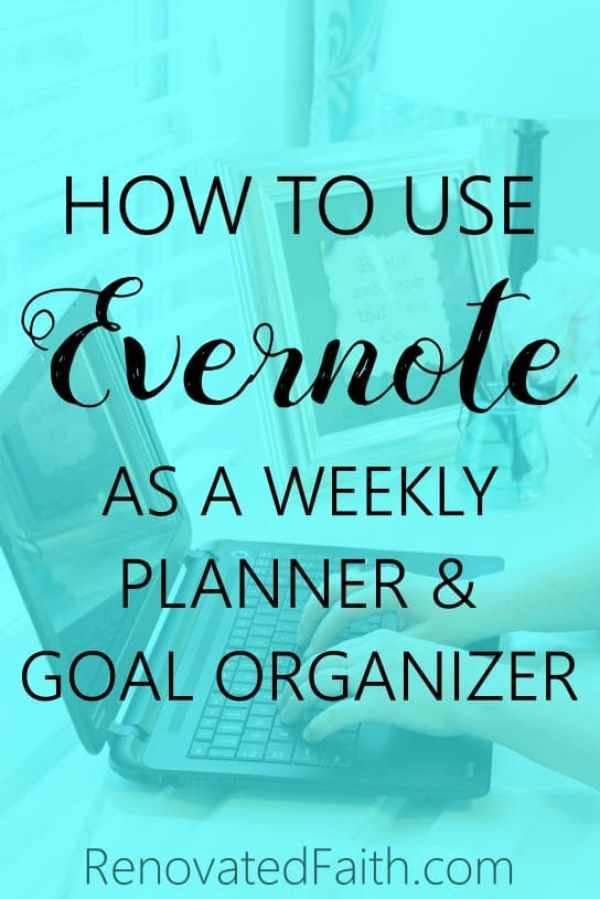 HEvernote as a Planner - So easy! 2018 is in the books and you need a planner for 2019. This diy planner includes a free template worksheet for goal setting thats printable as opposed to a notebook or journal layout with yearly, daily and monthly tabs. Several products don't organize your life like evernote; it's best to track goals and tips. #goalsetting #goals