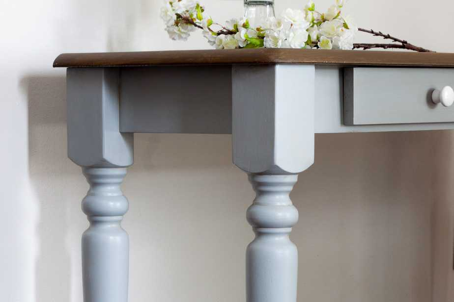 how to paint table legs paint curvy