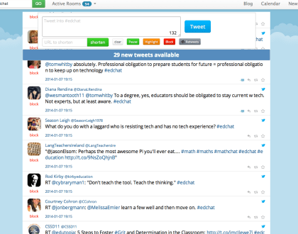 Tech Tuesday: My First Twitter Chat