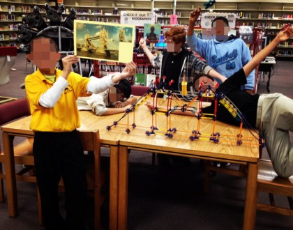K'nex club: Making models of real places
