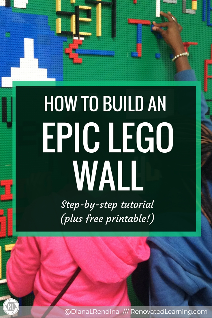 How To Build An Epic Lego Wall Renovated Learning Of 3 Phase Motor Starter In On June 16 2014 1 Comments 50