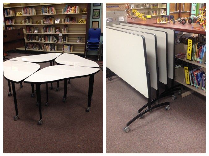 Our new Bretford tables