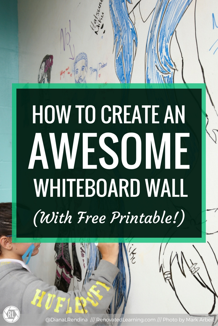 photograph about Printable Whiteboard identify How towards Crank out an Remarkable Whiteboard Wall Renovated Mastering