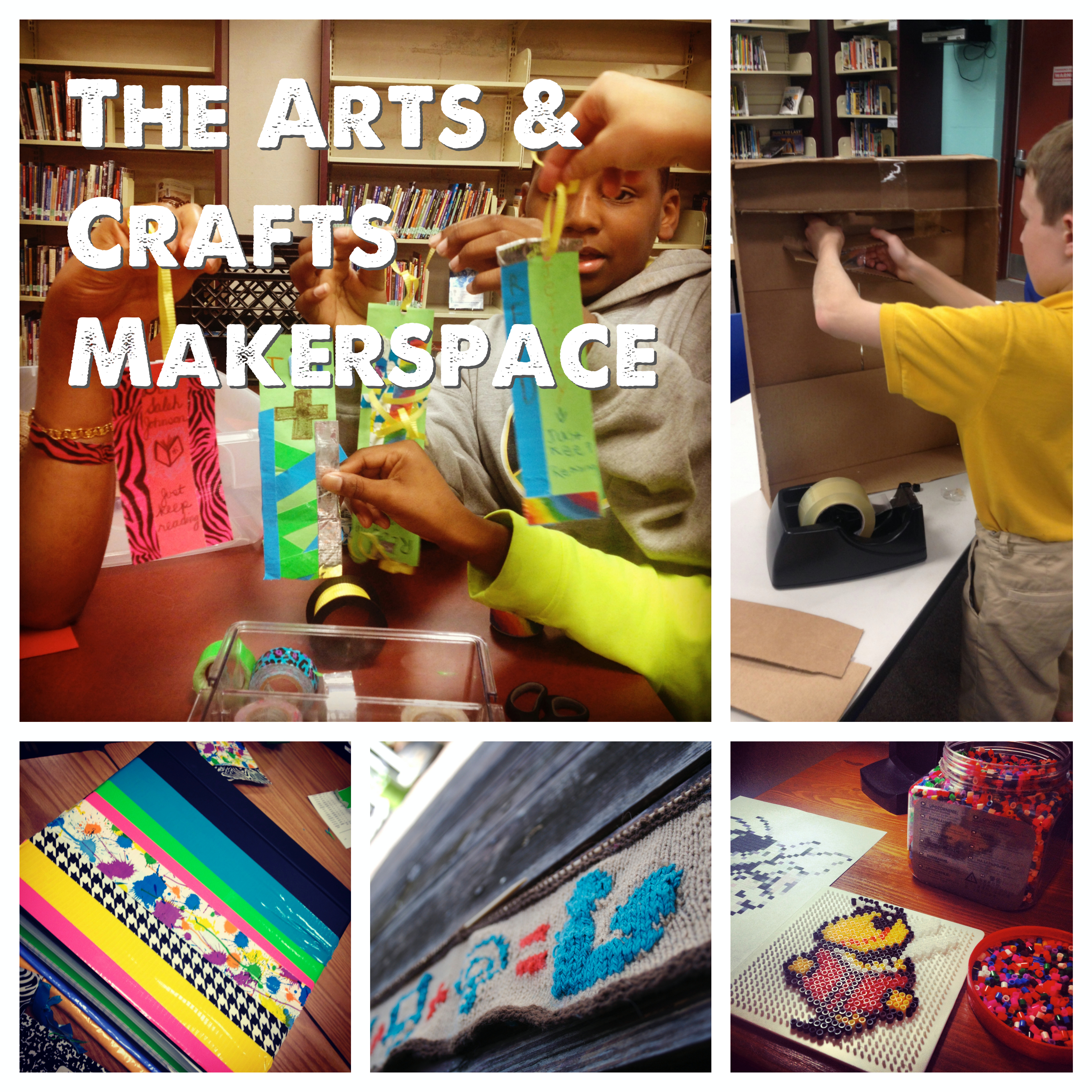 The arts and crafts makerspace renovated learning for Walmart arts and crafts