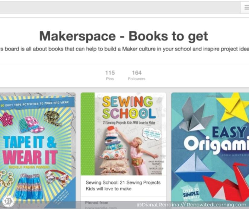 makerspace pinterest board