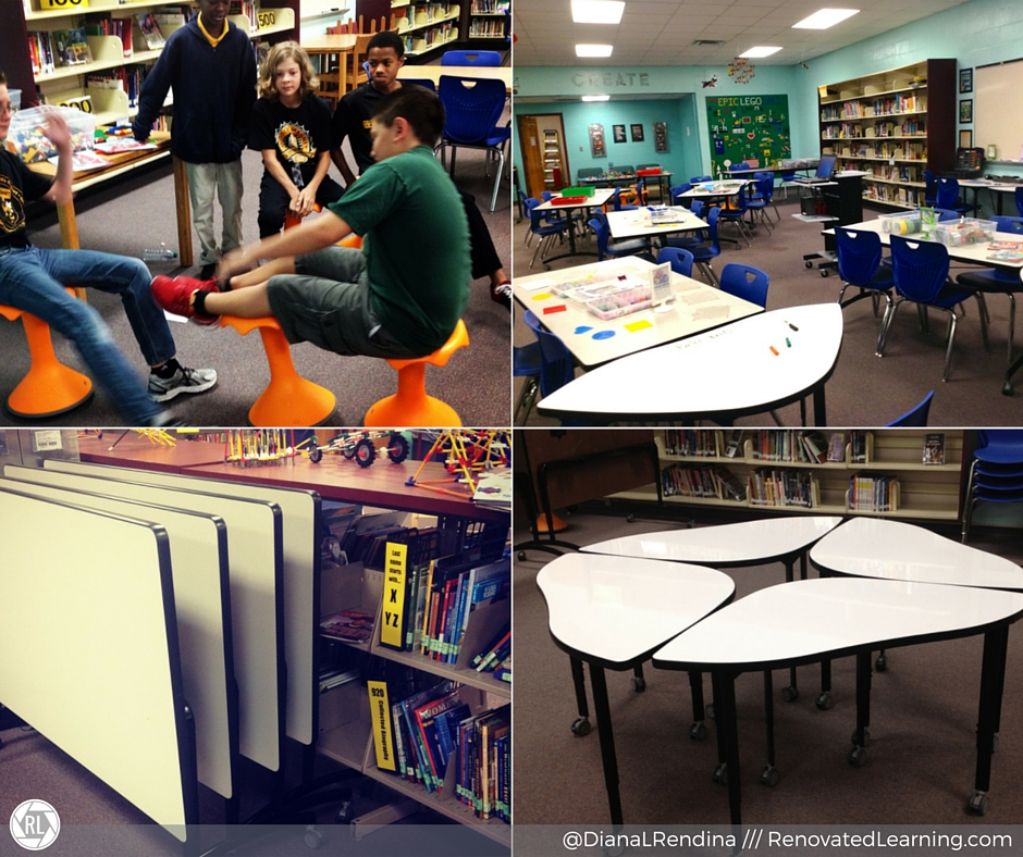 Movable and flexible furniture is key