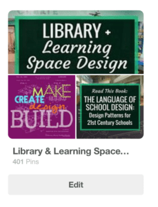 Learning Space Design Pinterest Page