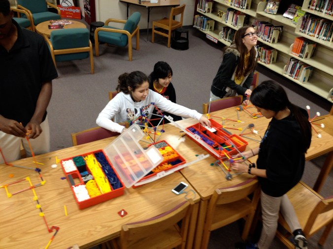 January 29, 2014 - The birth of our Makerspace