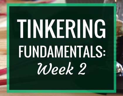 Tinkering Fundamentals: Week 2 | In week 2 of the Tinkering Fundamentals MOOC, I create my own circuit blocks with wood and components. I gain a much greater respect for the awesome maker tools that are available.