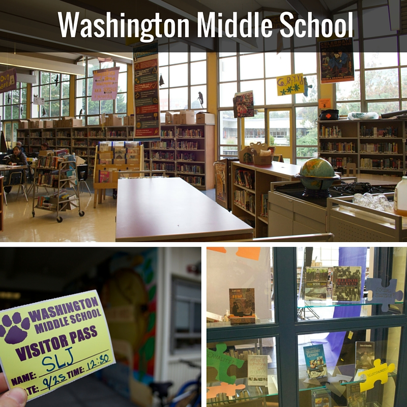 Washington Middle School | @DianaLRendina RenovatedLearning
