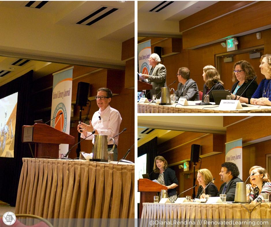 Speakers at SLJ Summit