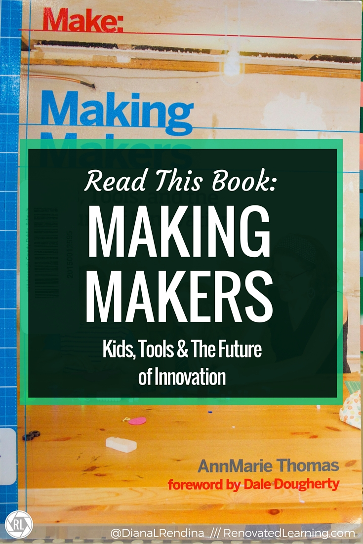 Making Makers: Kids, Tools, and the Future of Innovation | This book takes a look at the childhood experiences of many prominent makers, and looks at what common factors they had. It also offers advice for helping raise the next generation of makers.