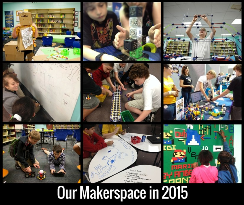 Our Makerspace in 2015