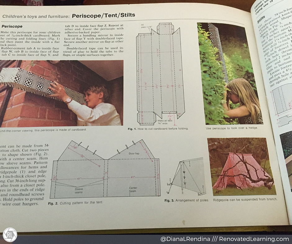 An ode to the complete do it yourself manual renovated learning periscope tent stilts how can you not want to make stuff like this solutioingenieria Choice Image