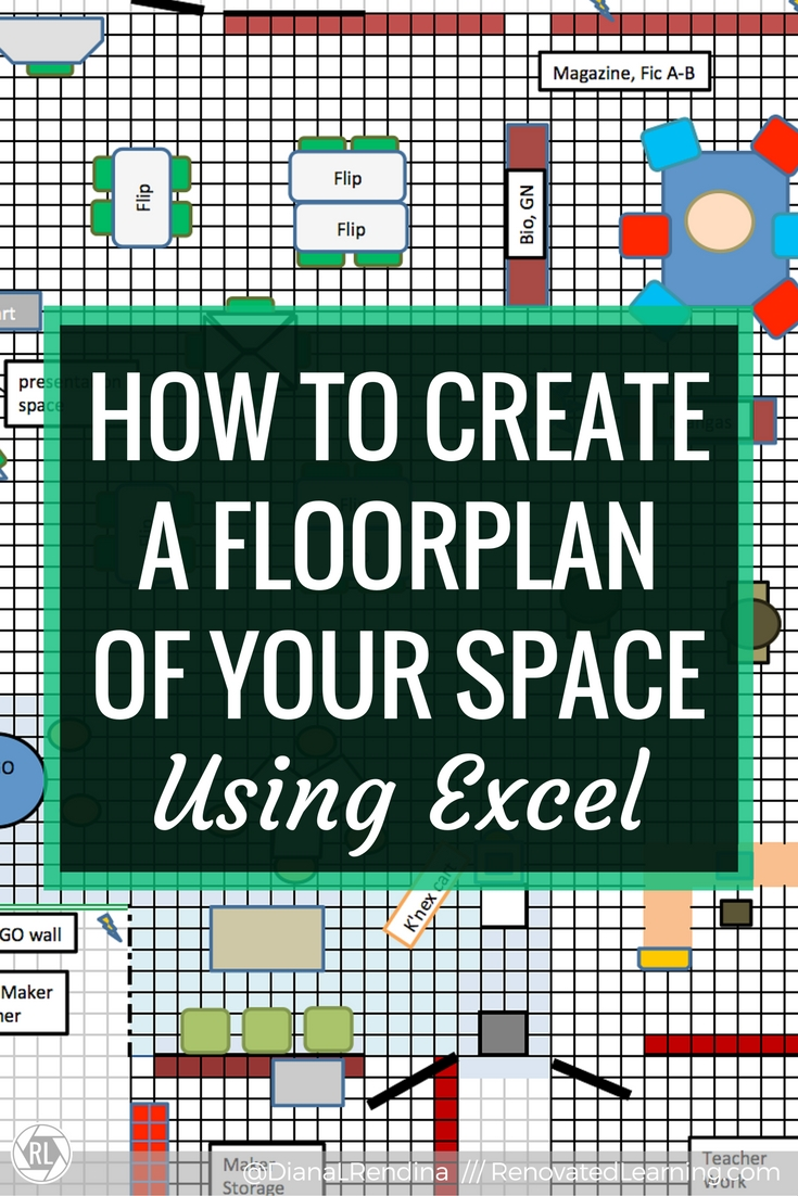 How To Create A Floorplan Of Your Space Using Excel   In This Tutorial,  Learn