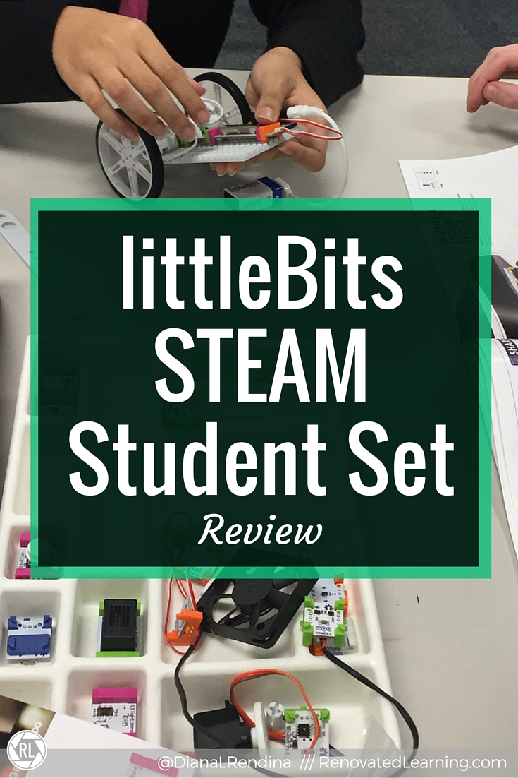 littleBits STEAM Student Set Review | My review of the littleBits STEAM Student Set after letting my students get a test drive. It's my new favorite littleBits kit :)