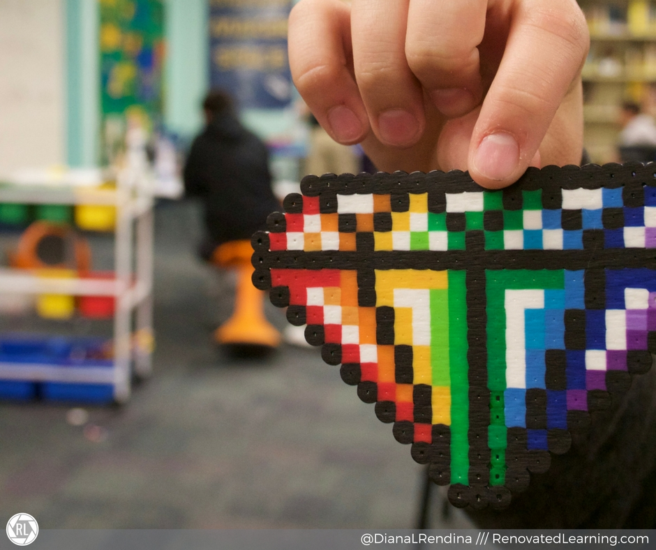 Pixel art is one of the most popular ways to use Perler beads in my space