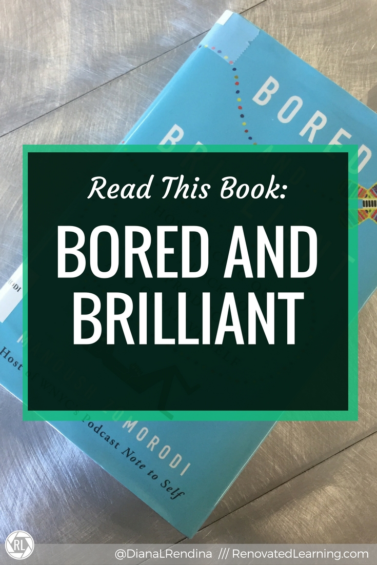 Read this Book: Bored and Brilliant // If you've ever worried that the amount of time you spend on your devices could be hindering your creativity, this book is for you.