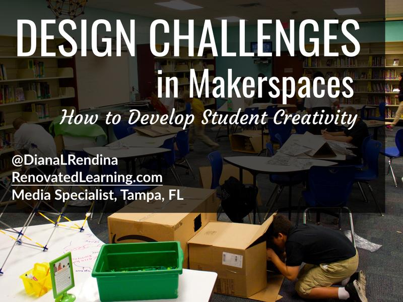 Design Challenges in Makerspaces