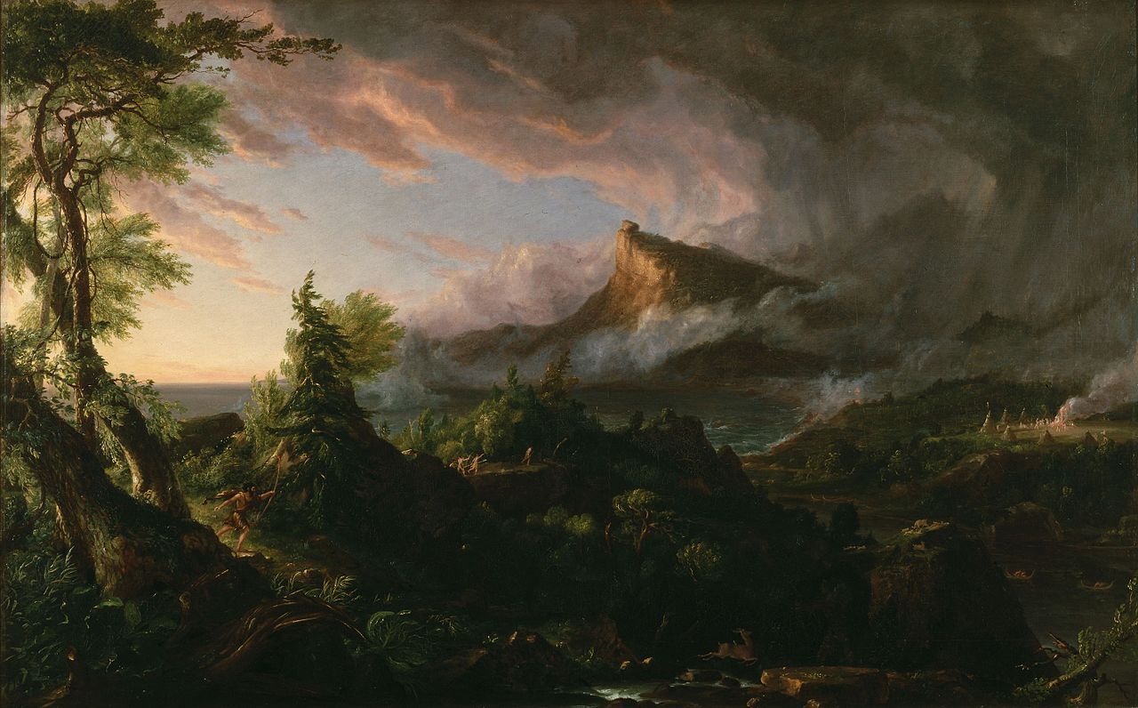 Thomas Cole – The Course of Empire – The Savage State