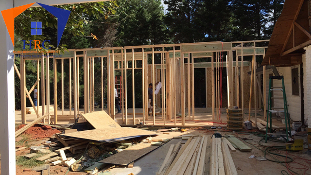 Framing, Addition, Deck and Porch