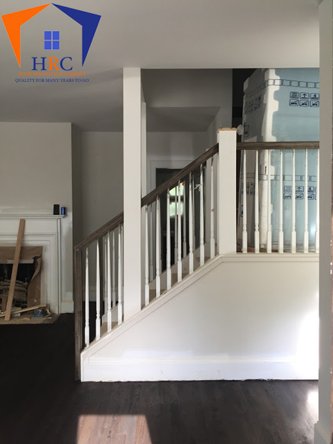 Carpentry work and decking, trim work, stairways and rails interior and exterior