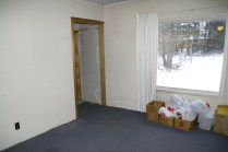Living room, picture window will be getting replaced with slicing glass doors.