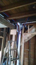 The learning curve of running pex pipe...