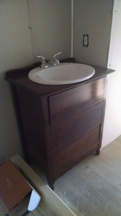 And, the finished vanity!