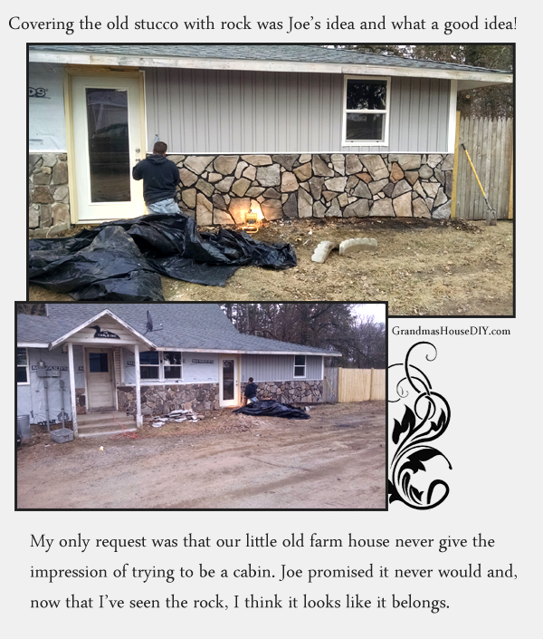 Using veneer stone over old stucco on a 100 year old farm house