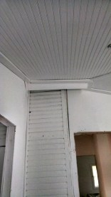 Keeping the old siding in Dakota's bedroom was a no brainer, painting it white turned out to be the right choice!