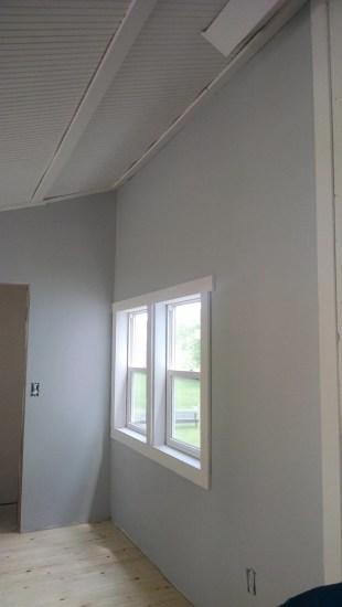 painting gray