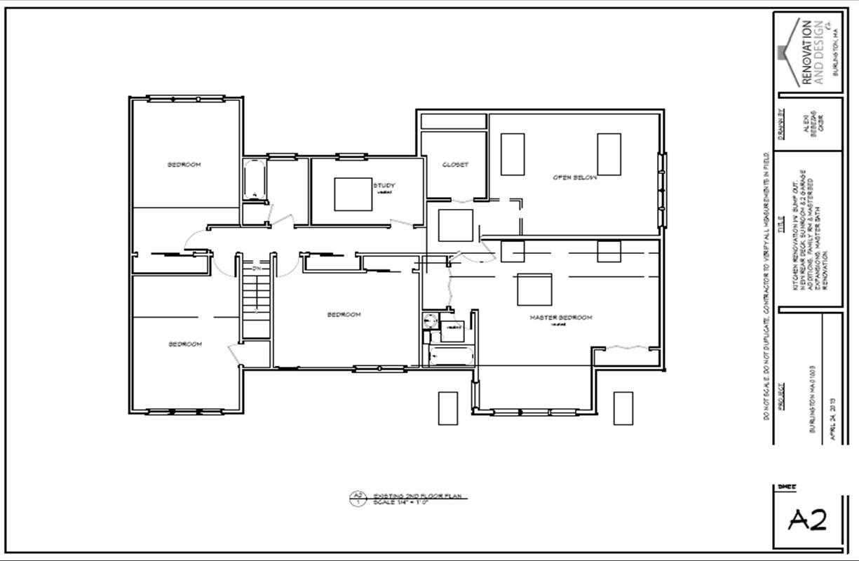 Burlington Ma Home Addition Permit Plans