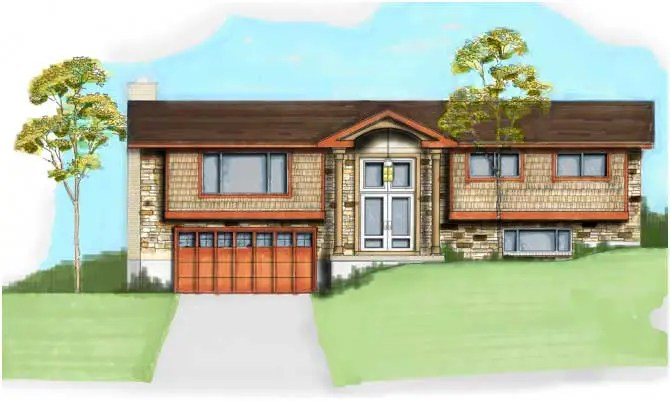Bountiful Split Entry Exterior Renovation Design Group
