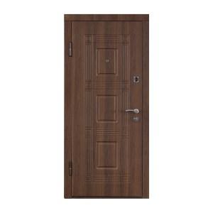 Входные двери двухсторонний мдф ПО-02 орех белоцерковский