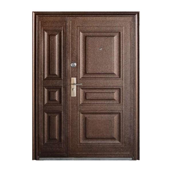 Двері вхідні подвійні розміри TP-C-68 коричневый