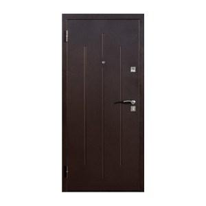 Купить двери входные Киев леруа мерлен Стройгост 7-2 коричневый-орех миланский