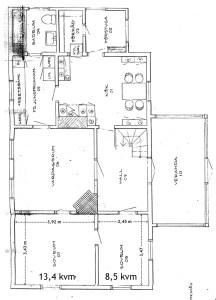 Två rum som ska renoveras: 13,4 + 8,5 kvm